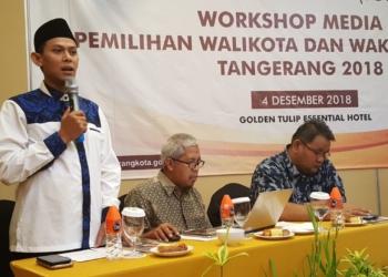 KPU Kota Tangerang Gelar Workshop dengan Pimpinan Media