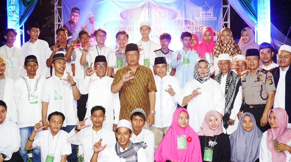 Forum Remaja Islam Serpong Gelar Tabligh Akbar