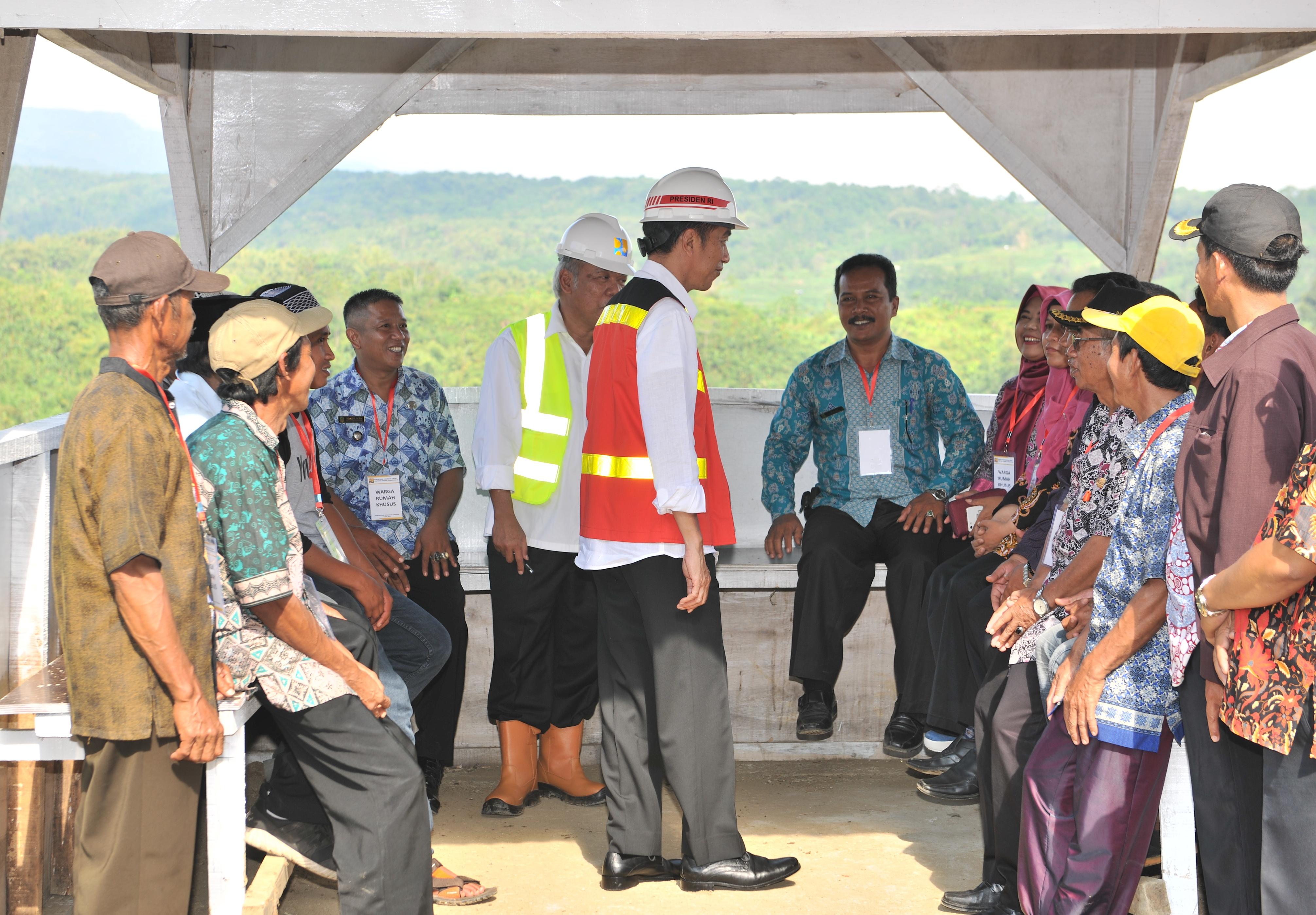 Termasuk Bendungan Kuningan, Presiden Jokowi: Pembangunan 8 Bendungan Selesai Tahun Ini