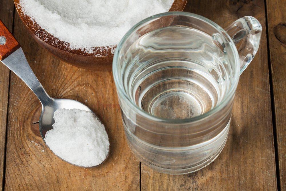 manfaat air garam untuk kesehatan mulut