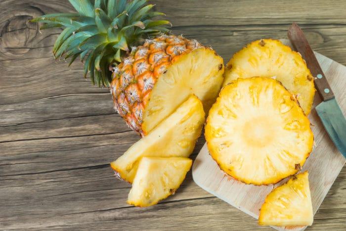 buah nanas untuk pencernaan