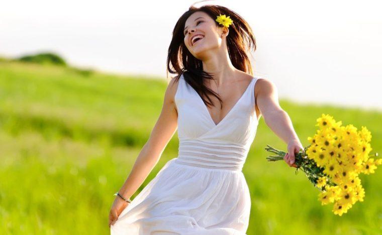 wanita sikap optimis