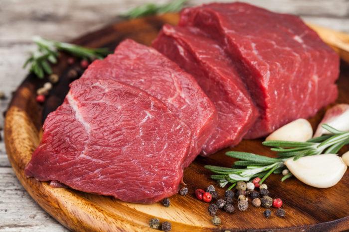 vitamin dalam daging