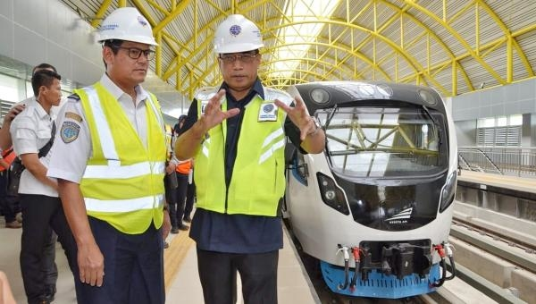 Telah Dilakukan Tes Dinamis, Pemerintah Targetkan LRT Palembang Operasi Juli 2018