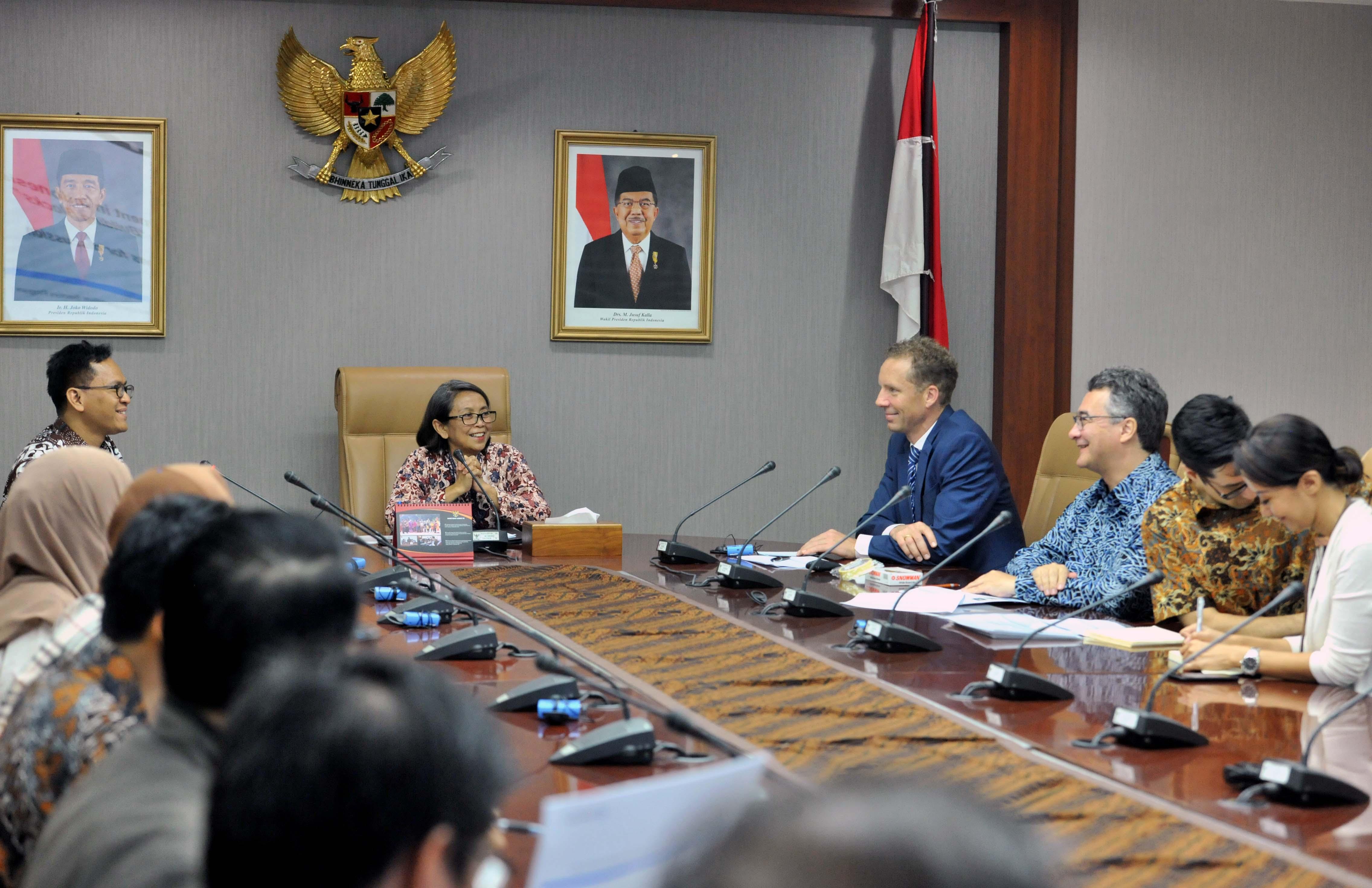 Samakan Persepsi, Kedeputian Maritim Setkab Diskusikan 'Regulatory Governance System'