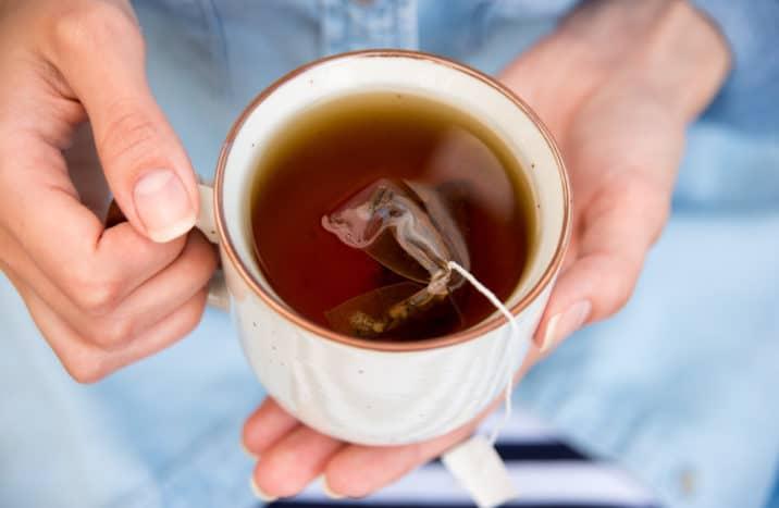 kantong teh celup bekas untuk mata