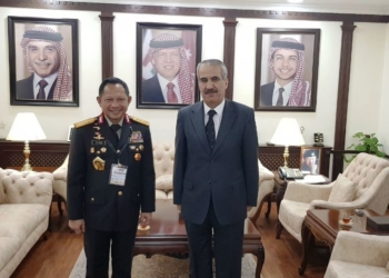 Kapolri Tito Karnavian dan Mendagri Yordania Jajaki Kerjasama Penanganan Keamanan Pelaku Usaha