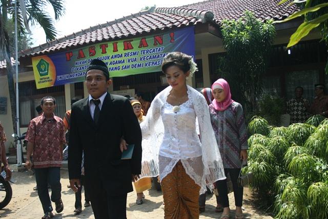 Pelayanan Pernikahan di Pamulang, Ramadan Sepi Padat Lagi Pasca-Lebaran