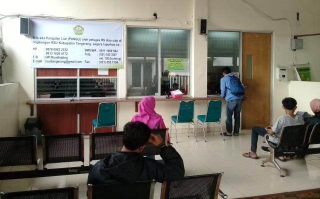RSU Kabupaten Tangerang Berantas Pungli