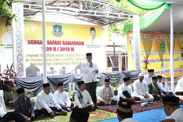 Wagub Safari Ramadan ke Jatiuwung
