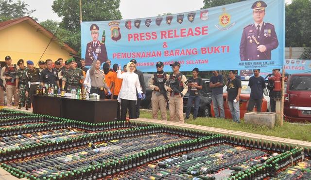 10.720 Botol Minol Dimusnahkan