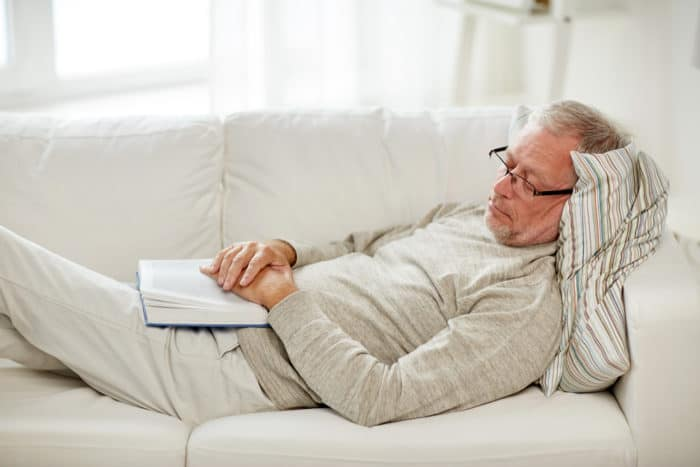 lansia sering tidur siang