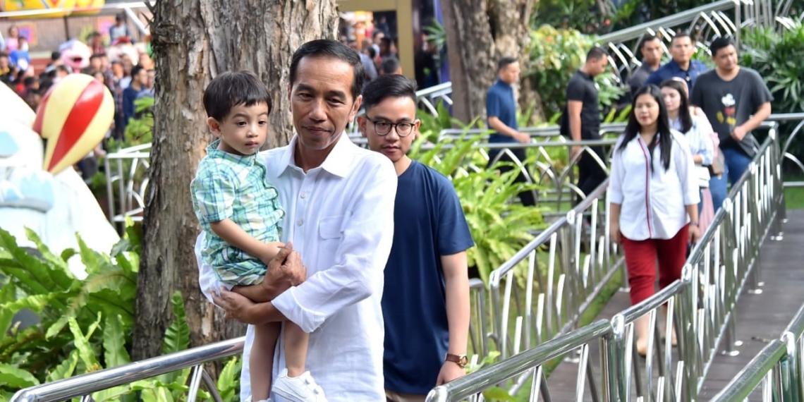 'Ngabuburit' di Dufan, Presiden: Semakin Berkembang, Terpelihara dan Tempat Bagus untuk Ajak Anak