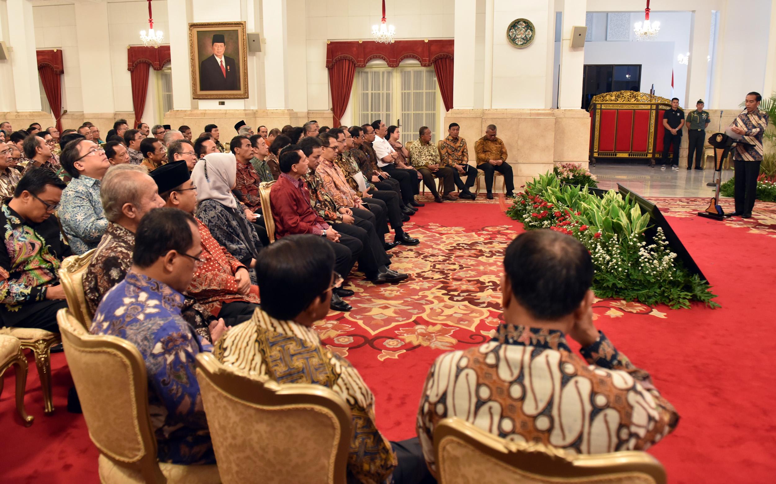 KKP dan Bakamla 'Disclaimer', Presiden Jokowi: Lakukan Terobosan Sehingga Lebih Bagus Lagi