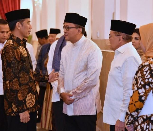 Presiden Jokowi Buka Bersama Dengan Keluarga Besar KADIN Indonesia