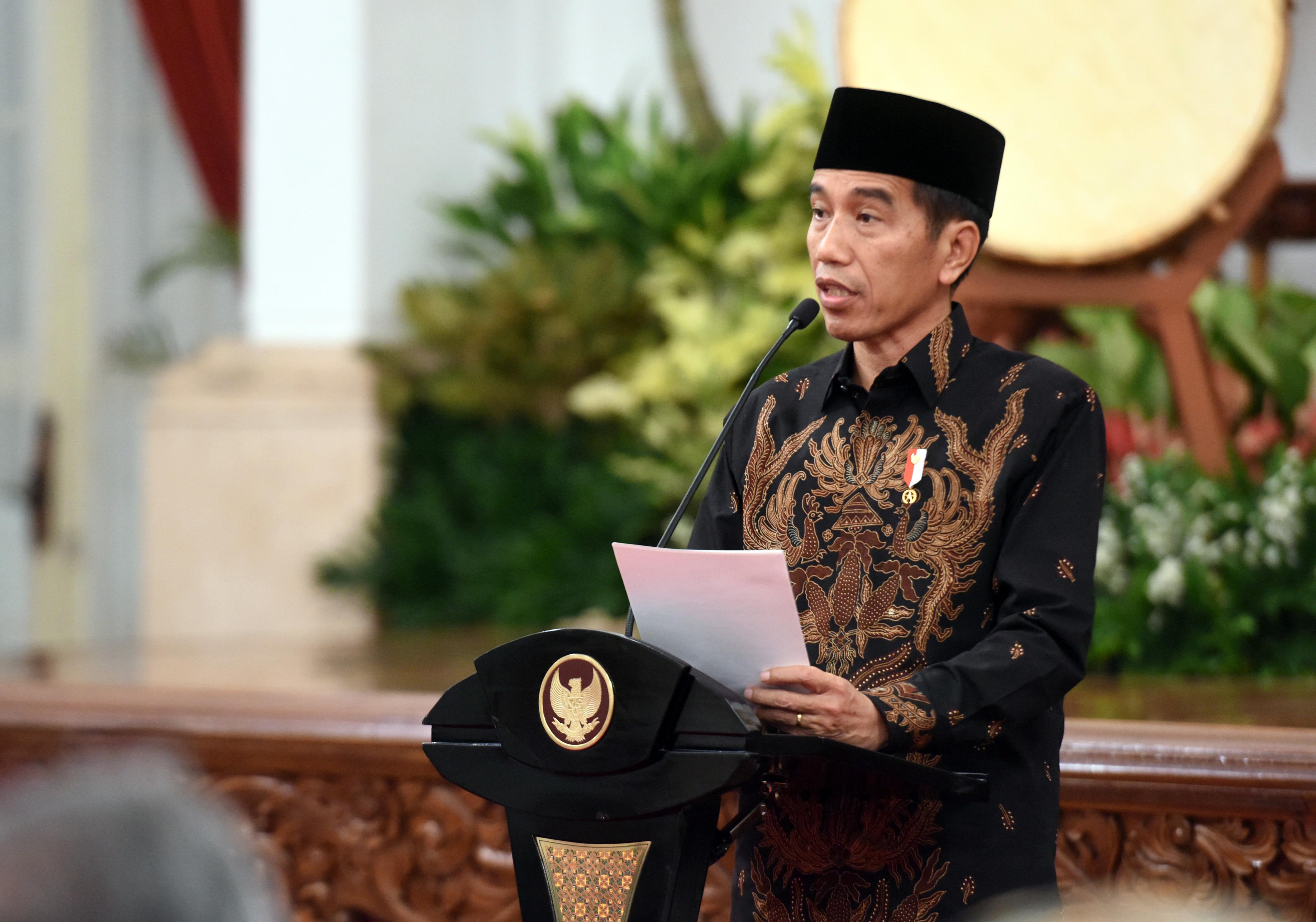 Presiden Jokowi: Bangsa Indonesia Harus Jadi Umat Yang Terbaik, Besar, Disegani