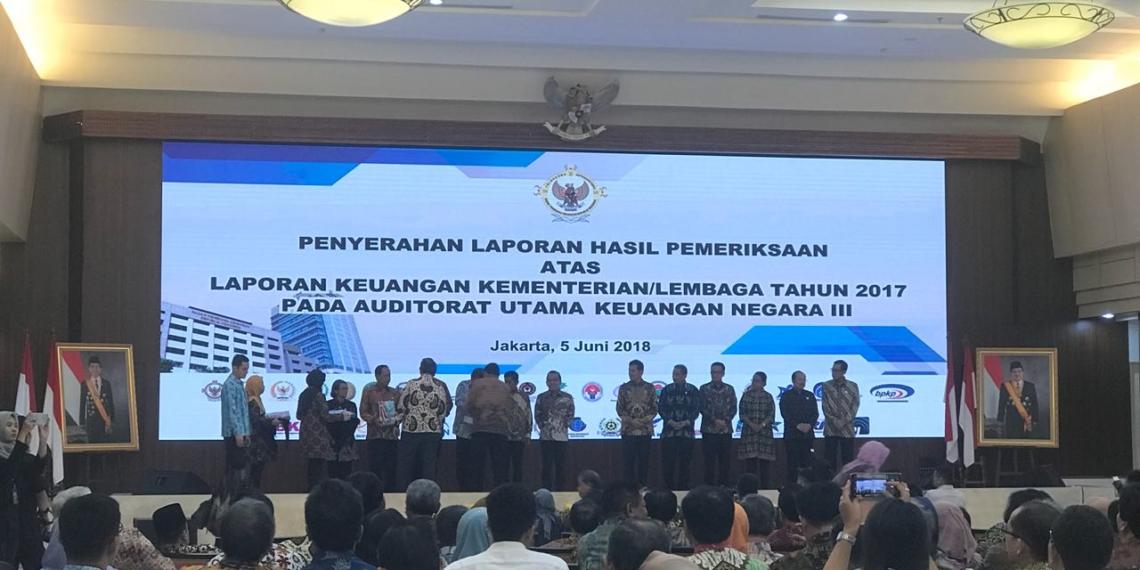 Untuk Keenam Kalinya, BPK Beri Opini WTP Atas Laporan Keuangan Tahun 2017 Sekretariat Kabinet