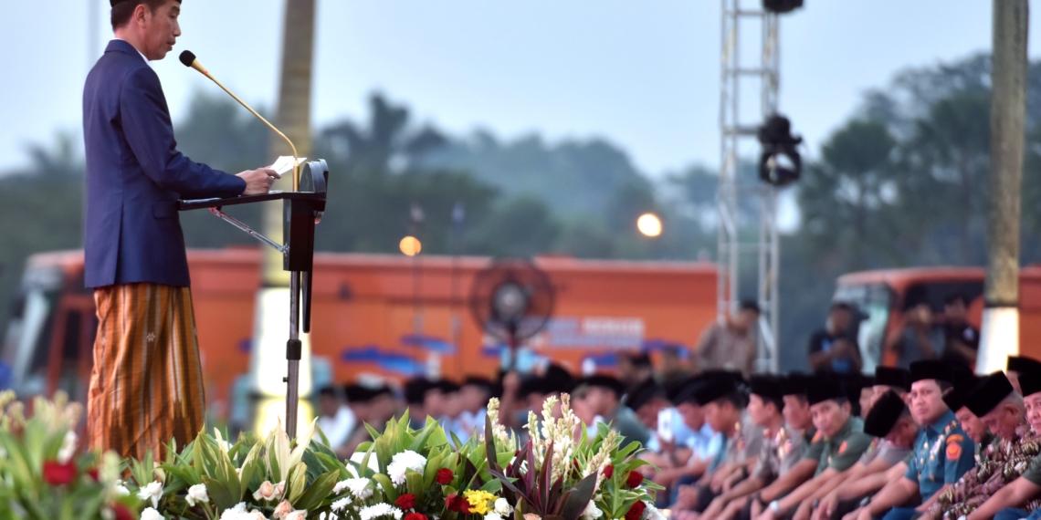Mulai Juli, Presiden Jokowi: Tukin TNI/Polri Naik, Pendapatan Operasional Babinsa Naik 771%