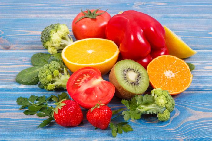 vitamin c dan zinc