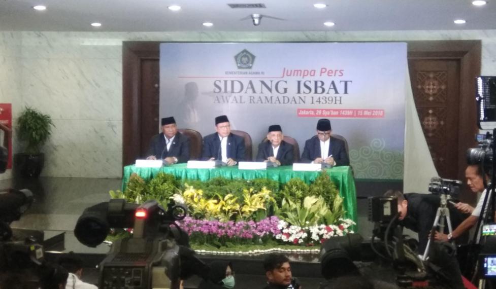 Kamis, Kemenag Gelar Sidang Isbat Tentukan Idul Fitri 1439H