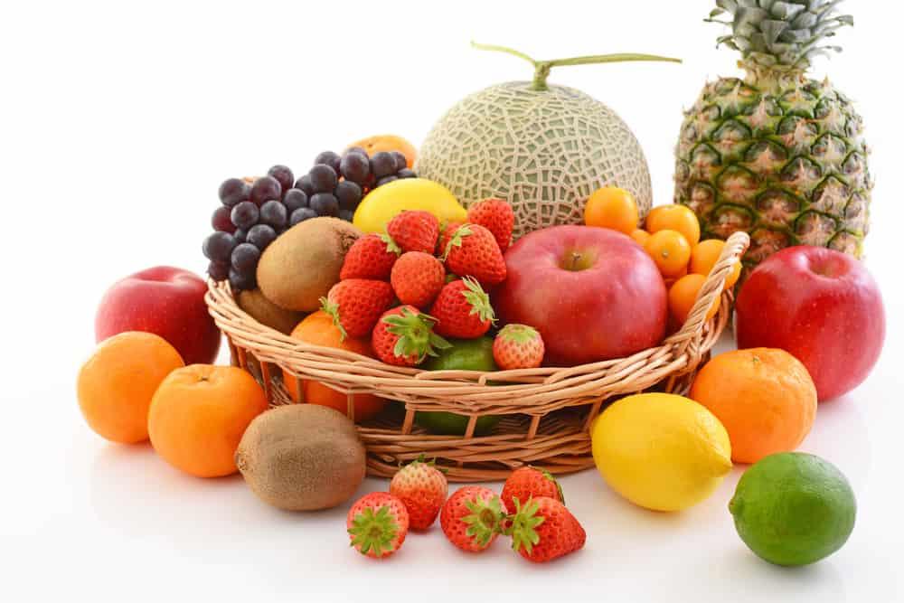 buah tinggi protein