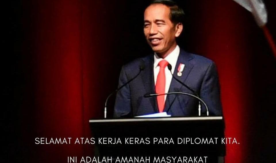 Jadi Anggota DK PBB, Presiden Jokowi: Hasil Kerja Keras Indonesia, Tidak Hamburkan Uang