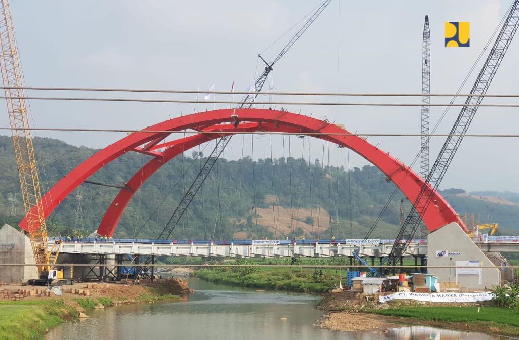 Dibuka Fungsional Sesuai Target, Jembatan Kali Kuto Diharapkan Perlancar Arus Mudik dan Balik
