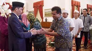 Usai Salat Idulfitri 1439H, Presiden Jokowi Gelar 'Open House' dengan Masyarakat di Istana Bogor
