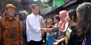 Mudik Lebaran 1439 ke Solo, Presiden Jokowi Blusukan Sapa Warga