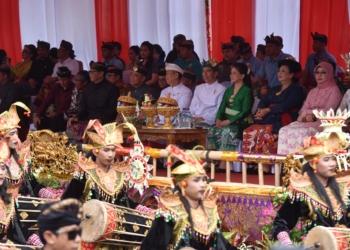 Berlangsung Sebulan Penuh, Presiden Buka Pawai Pesta Kesenian Bali ke-40 Tahun 2018
