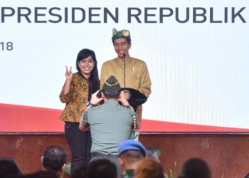 Setelah Surabaya, Presiden Jokowi Sosialisasikan PPh Final UMKM 0,5% di Bali