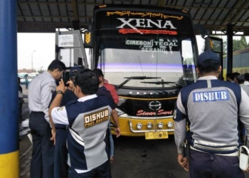 Tiga Bus Dinilai Tak Laik Jalan