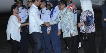 Disambut Penjabat Gubernur, Presiden Lakukan Kunjungan Kerja ke Provinsi Sulawesi Selatan