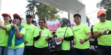 Semarakkan Asian Games, Kemensetneg Gelar 'Setneg Fun Run Asian Games 2018'