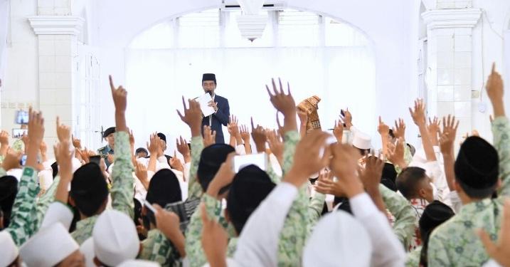 Dukung Jokowi Kembali Jadi Presiden, Samijo Cirebon: Kemenangan Jokowi, Kemenangan Umat Islam