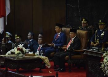 Di depan Paripurna DPR/DPD, Presiden Jokowi Pamerkan Hasil Kerja 4 Tahun Pemerintahannya