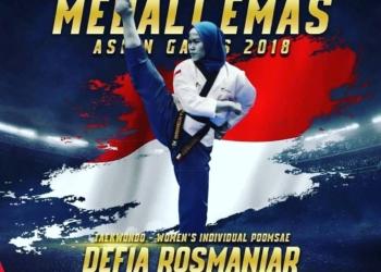 Asian Games 2018: Defia Rosmaniar Persembahkan Emas Pertama Untuk Indonesia