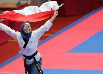Presiden Jokowi: Defia, Rakyat Indonesia Bangga Padamu