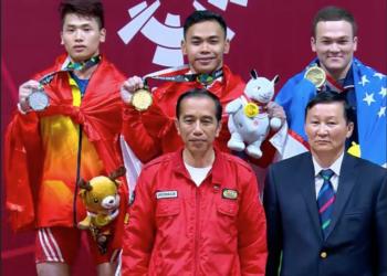 Asian Games 2018: Eko Yuli Persembahkan Medali Emas Untuk Kontingan Indonesia