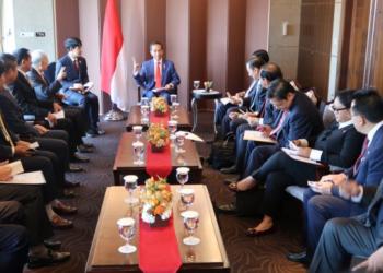 Termasuk Lotte dan Hyunday, Presiden Jokowi Terima Pimpinan 4 Perusahaan Besar Korsel