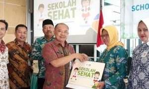 Program Sekolah Sehat tahun 2018, Dindikbud Tangsel Bekerjasama dengan Yayasan Unilever Indonesia