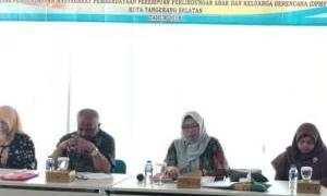 Puluhan PLKB di Tangsel Ikuti Kegiatan Orientasi Pencatatan dan Pelaporan Pelayanan Kontrasepsi