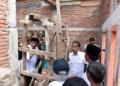 Tinjau RISHA, Presiden Jokowi: Masyarakat Ingin Pembangunan Rumahnya Cepat Selesai
