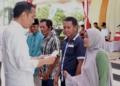 Presiden Jokowi Serahkan Langsung Bantuan Pembangunan Rumah Warga Korban Gempa Lombok