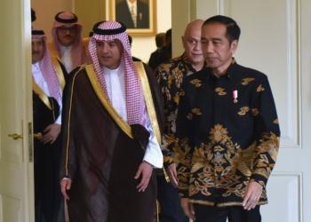 Terima Menlu Arab Saudi, Presiden Jokowi Sampaikan Keprihatinan Atas Kasus Khashoggi