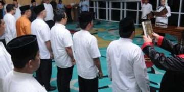 Walikota Airin Lantik Sejumlah Pejabat Administrator di Lingkup Pemkot Tangsel