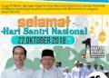 Hari Santri Nasional Jadi Bukti Pemerintahan Jokowi Benar-Benar Hargai Santri