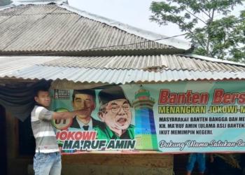 Berikan Dukungan, Himpunan Pemuda Alkhairiyah Bangga Kiyai Ma'ruf Amin Jadi Cawapres Jokowi
