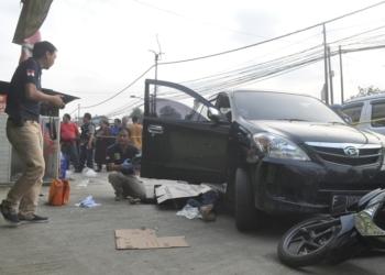 Polisi Tembak Mati Pencuri Toko Sembako