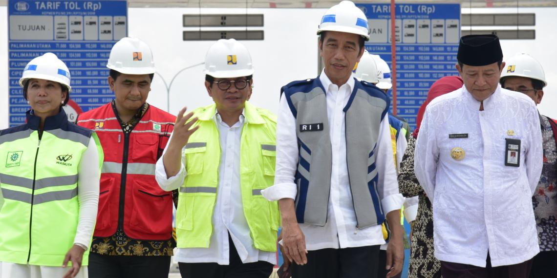 Resmikan Seksi 3-4 Tol Pejagan-Pemalang, Presiden Jokowi: Merak-Surabaya Akan Tersambung Desember